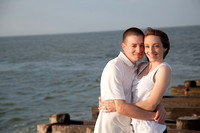 Alanna & John: The Engagement Shoot at the Jersey Shore