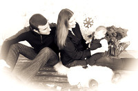 Tyler's 1st Christmas with Jenna & Matt